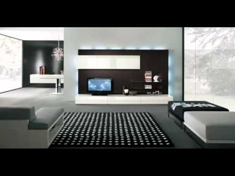 Modern Tv Wall Units Adorable Modern Tv Wall Units  Youtube