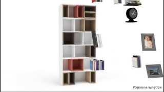 Стеллаж широкий 4 YOU BY VOX. Мебель Вокс(http://www.mebelpoland.com.ua/product/4-you-by-vox-stellazh-shirokij/ Стеллаж широкий 4 YOU BY VOX: асимметрично разделен полками для удобного..., 2012-12-22T12:55:51.000Z)