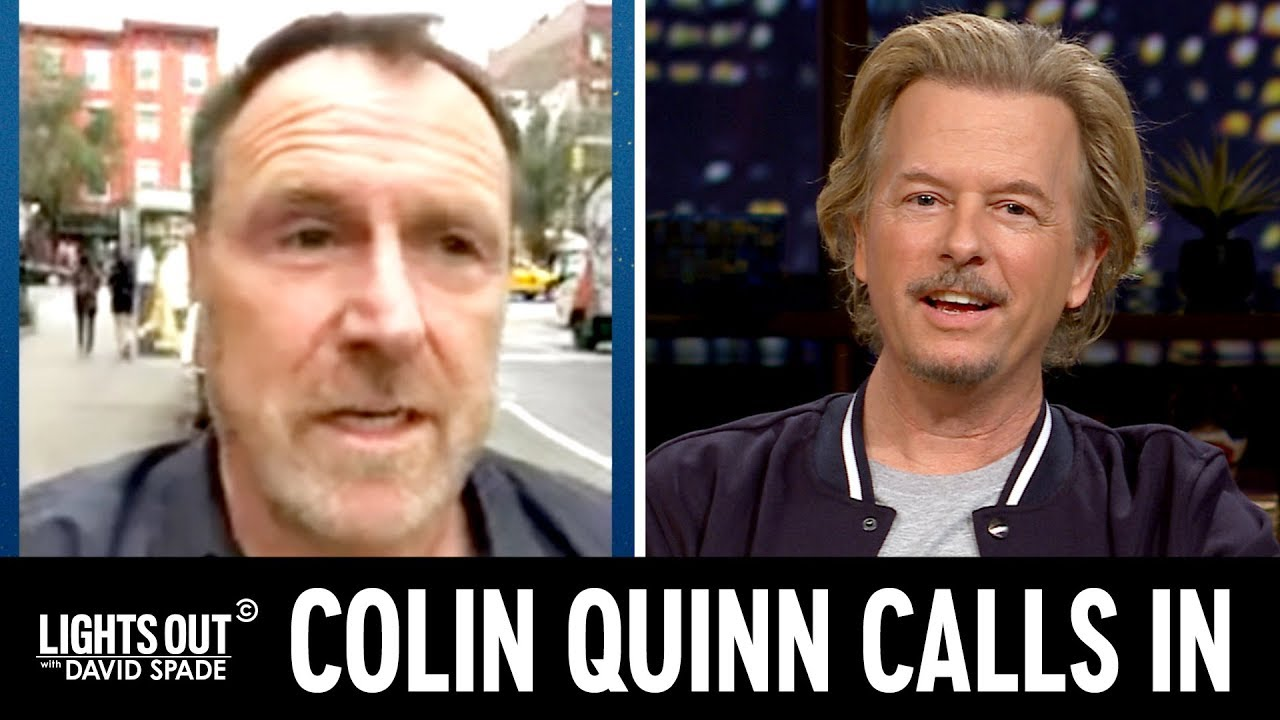 Colin Quinn Calls with an Update on
