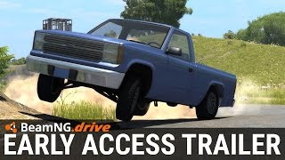BeamNG.Drive: Steam Early Access Trailer