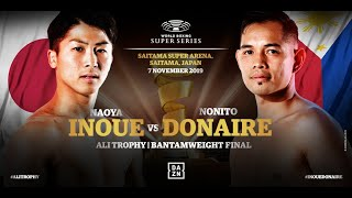 Inoue vs Donaire - WBSS Season 2 Bantamweight Final