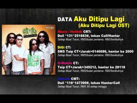 DATA - Aku Ditipu Lagi (Official Fullsong Lyric)
