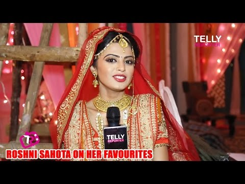 Roshni Sahota Interview On Her Favorites |  Shakti Astitva Ke Ehsaas Ki |  Telly Reporter Exclusive