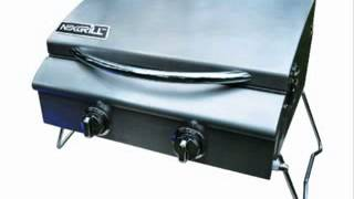 Nexgrill 820-0015 2 Burner Table Top Gas Grill With Tank Reg