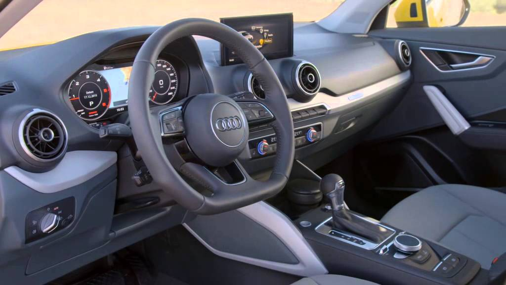 Audi q2 int rieur youtube for Interieur sport norseman