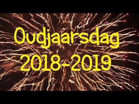 Oudjaarsdag 2018/2019 Vuurwerk Compilatie