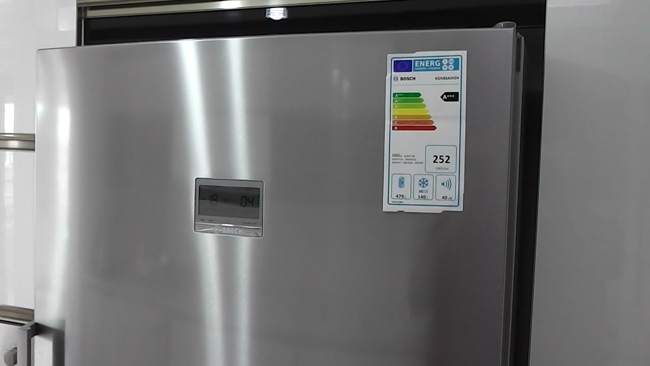 Bosch Kgn86ai42n Nofrost Refrigerator Detailed Review