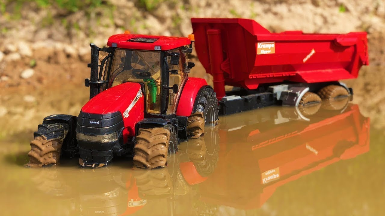 BEST OF RC Bruder Toys in the MUD! Trucks, tractors, excavators and more!