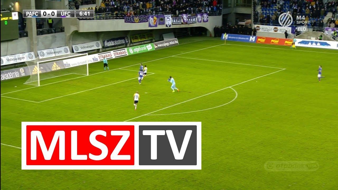 Ulysse Diallo gólja a Puskás Akadémia FC - Újpest FC mérkőzésen