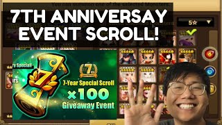 7TH ANNIVERSARY EVENT SCROLL! MY PICKS AND RECOMMENDATIONS - SUMMONERS WAR