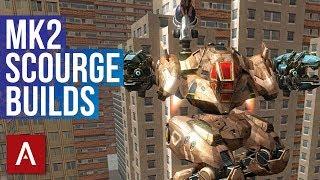 War Robots Best Setups: Scourge Builds