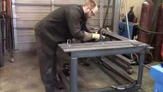 Fixture Welding Table Part 6   Welding Slats