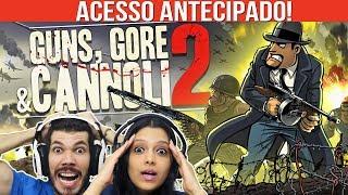 GUNS, GORE & CANNOLI 2 - O INÍCIO   CO-OP GAMEPLAY   PT-BR (Acesso Antecipado)