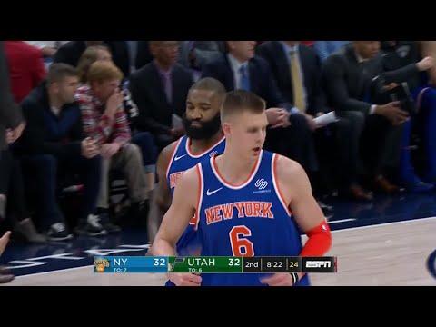 2nd Quarter, One Box Video: Utah Jazz vs. New York Knicks