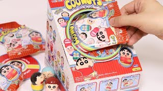 Crayon Shinchan Coonuts Box Unboxing