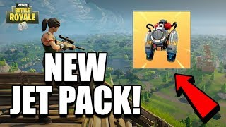 *NEW* FORTNITE JET PACK UPDATE COMING SOON! Fortnite Battle Royale Jet Packs!