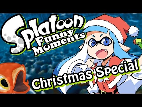 Splatoon Christmas Special! - Snowball Fight! (Funny Moments)