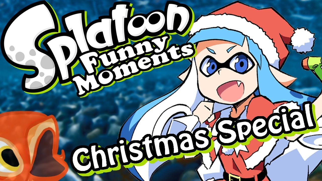 Splatoon Christmas Special! - Snowball Fight! (Funny Moments ...