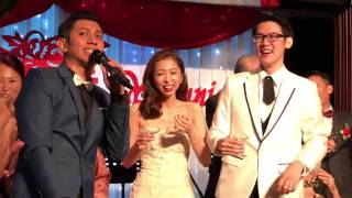 Wedding Emcee Small J at Xin Cuisine Concorde Hotel