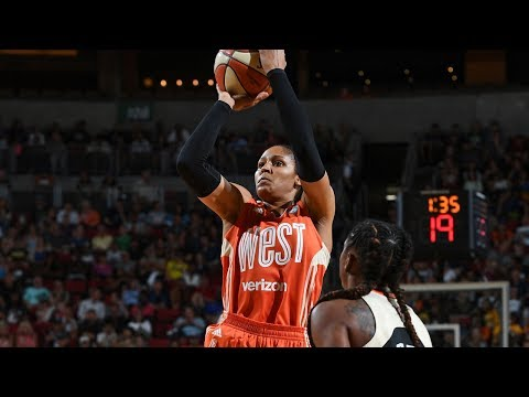 Maya Moore Leads West With 23 Points to Win 2017 WNBA All-Star MVP!