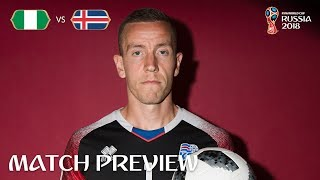 Hannes Halldorsson (Iceland) - Match 24 Preview - 2018 FIFA World Cup™