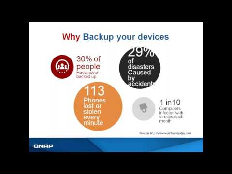 Backup Your Files with Ease - QNAP NAS
