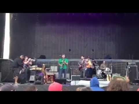 The Revivalists feat. Soul Rebels Brass Band - Madison Square voodoo Fest 2012