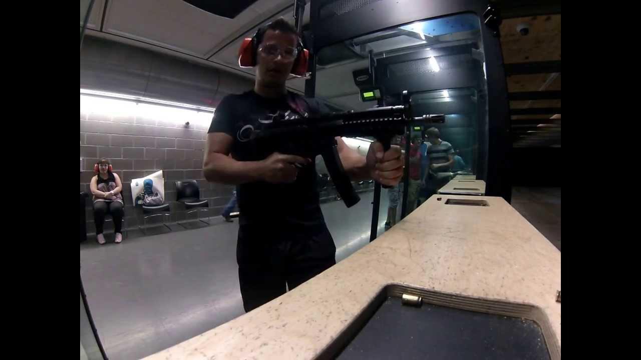 Mp4 Submachine Gun