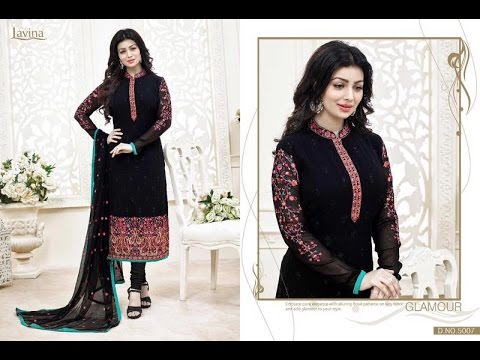 500d8b09a8 Latest Indian dresses collections 2017 || Ayesha Takia Salwar kameez ||  Lavina-5