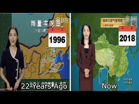 Chinese Weather Woman Stuns The World By Not Aging For 22 Years
