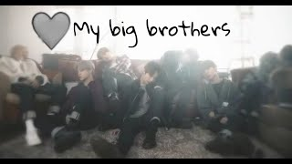 [BTS FF] My Big Brothers- Ep.1