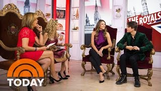 Elizabeth Hurley's Son Damian: We Joked About Me Joining 'The Royals,' Then It Happened | TODAY