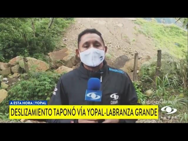 A ESTA HORA CONTINÚA CERRADA VÍA YOPAL LABRANZAGRANDE