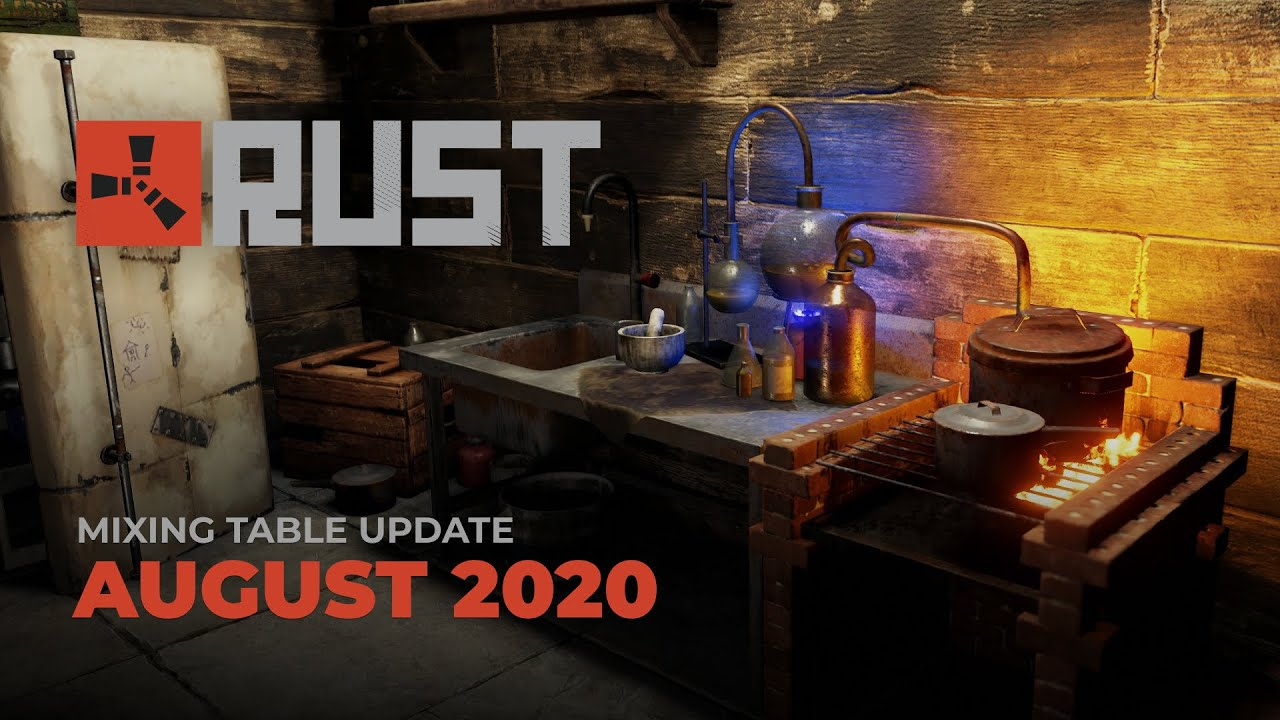 Rust - Mixing Table