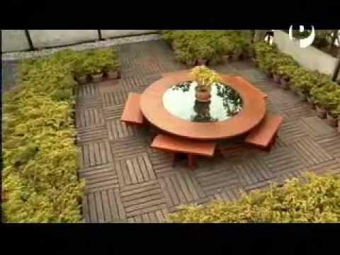 Linea y punto techo jardin y youtube for Ideas para embellecer el jardin