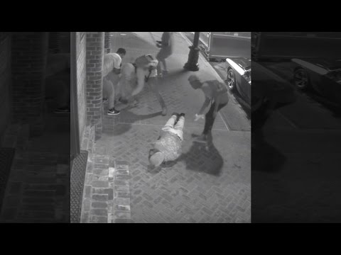 See a Brutal Attack and Robbery of New Orleans Tourists Caught on Camera