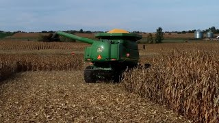 Harvesting Wet Corn