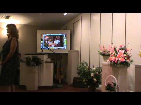 Julie Hill memorial service
