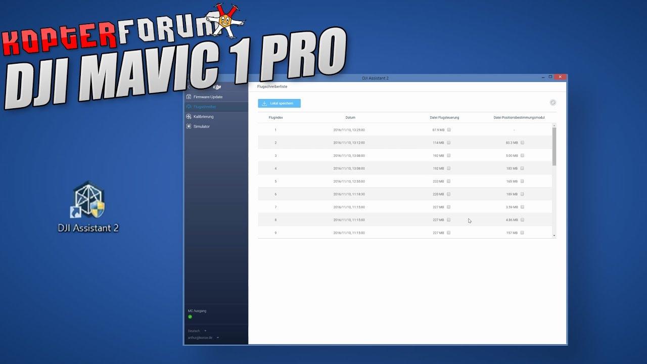 DJI Mavic #16 - Assistant 2 Software [german/deutsch]
