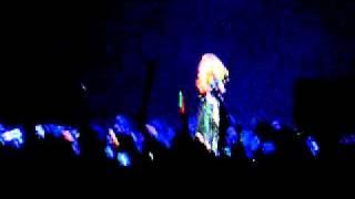 lady gaga talks about virgin mobile charity and calls an audience at the monster ball tour