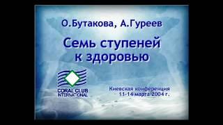 7 ступеней к здоровью. Ольга Бутакова и Андрей Гуреев. ЗОЖ, Концепция здоровья от Coral Club.