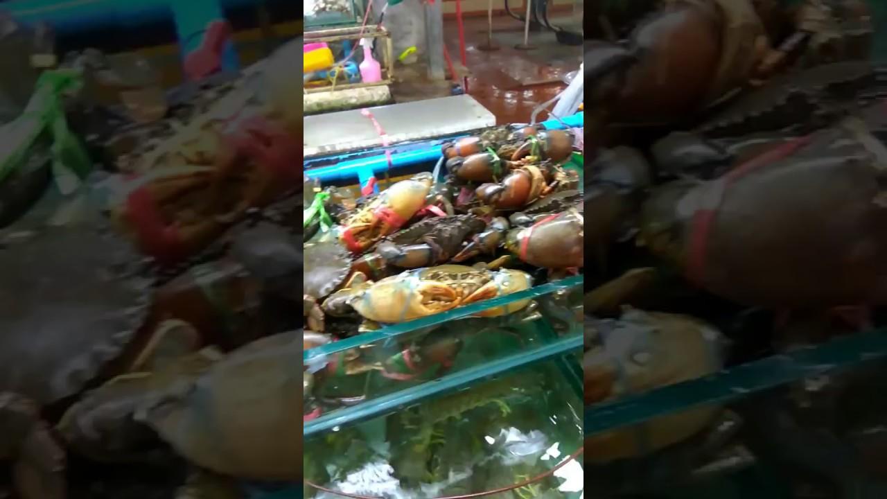 Banzaan Fresh Market Seafood Patong Beach Phuket Thailand