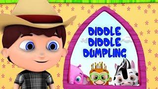 Diddle Diddle клецка   детские стишки   Детские песни   Little Treehouse   Diddle Diddle Dumpling