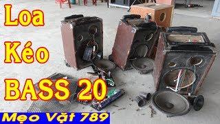 Bên trong LOA KÉO BASS 20 có gì - Discover Portable Speakers