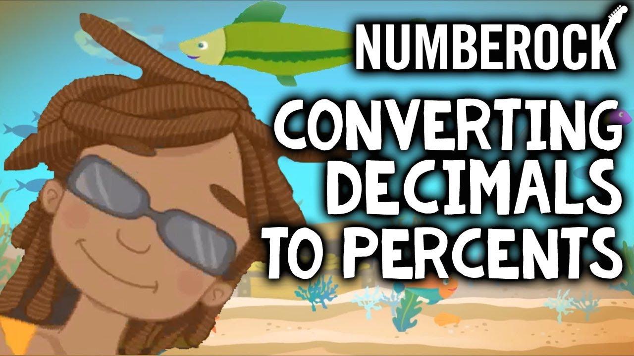 Converting Decimals to Percents Song   4th - 6th Grade   - YouTube [ 720 x 1280 Pixel ]