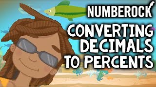 Decimals to Percents Song: Percentages & Converting of Numbers for Kids