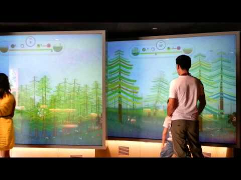 Travelling Singapore - Interactive Educational Screen