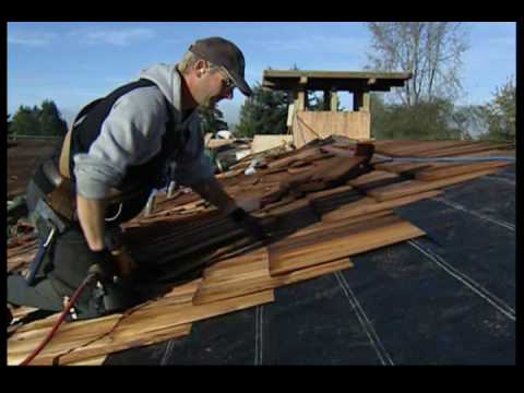 Roofing Shakes Installation & Cap Shakes And Shingles Are ...