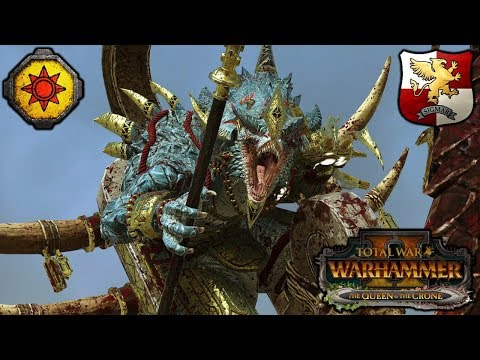 SUMMON THE ELECTOR COUNTS, DESTROY ALL DINOS! - Lizardmen vs. Empire - Total War Warhammer 2
