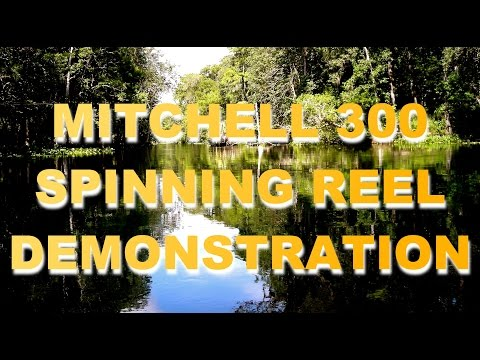 Mitchell 300 Reel Casting Demo By Johnny Dieckman 1956